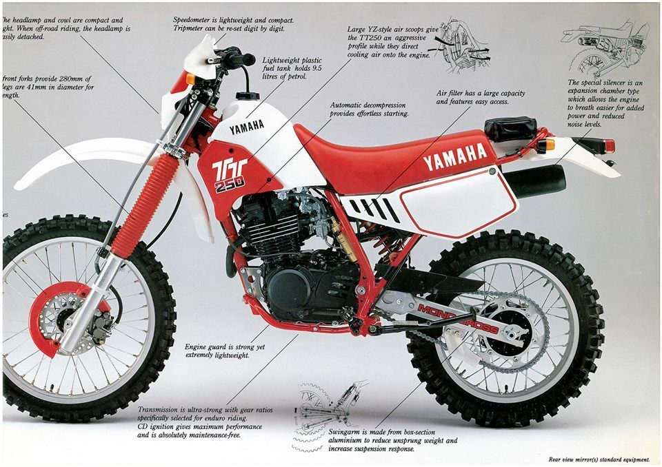 yamaha (select model) tt tt250 page 1 kedo parts australia Yamaha DT 125 Wiring Diagram