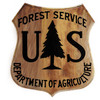 Forest Service Shield Plaque