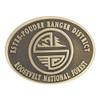 Estes / Poudre Ranger District Buckle