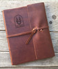 Leather Refillable Leather Notebook