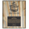 Plaque 9 x 12 - Beetle Kill Pine
