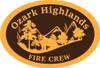 Ozark Highlands Fire Crew Buckle (RESTRICTED)