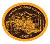 Kaibab National Forest Timber Buckle