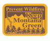 Keep Montana Green Prevent Wildfires Buckle