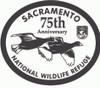 Sacramento National Wildlife Refuge 75th Anniversary Buckle