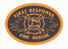 First Response Fire Rescue Buckle