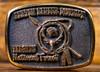Ashton Ranger District Targhee National Forest Buckle
