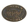 Lincoln Highway Buckle