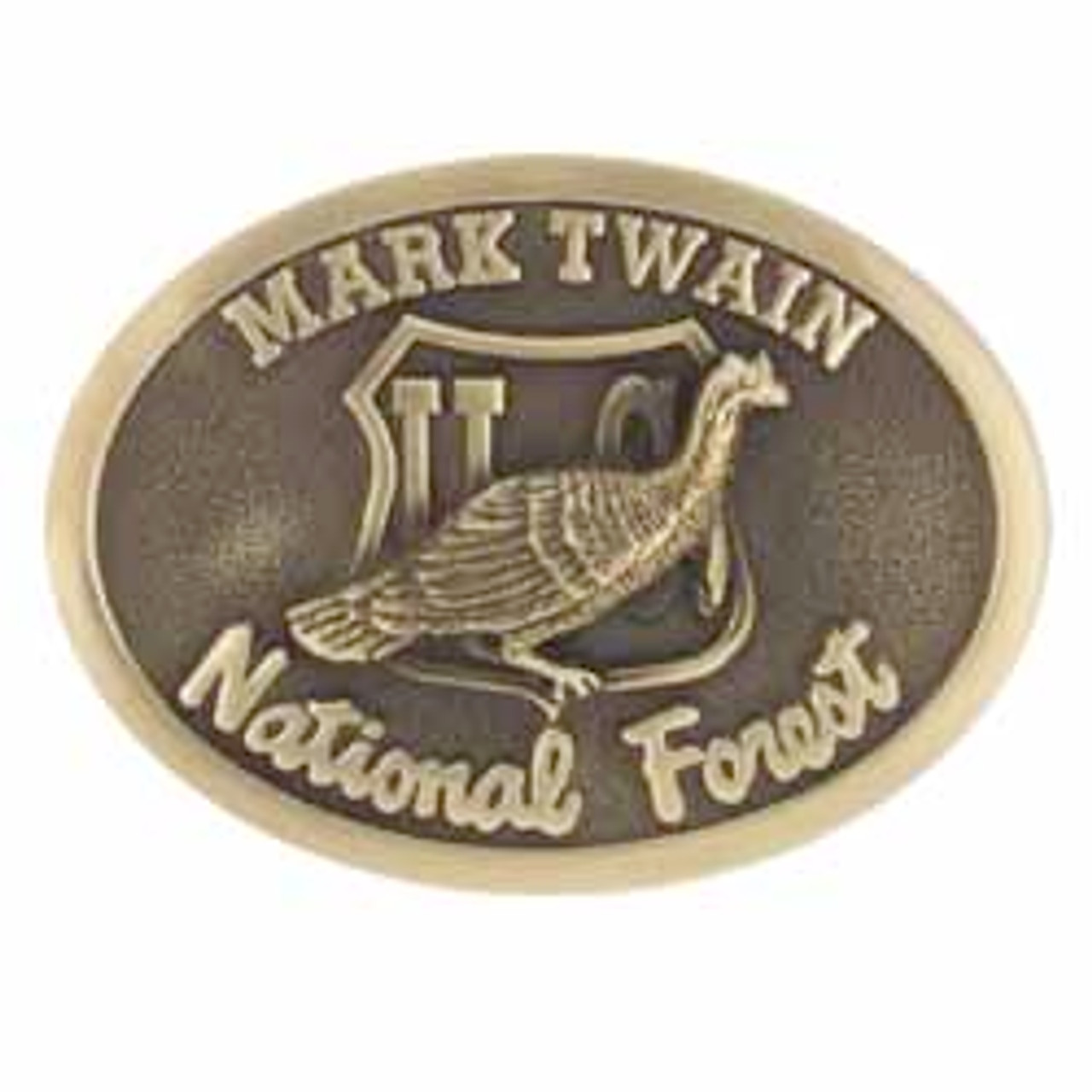 Mark Twain National Forest Buckle