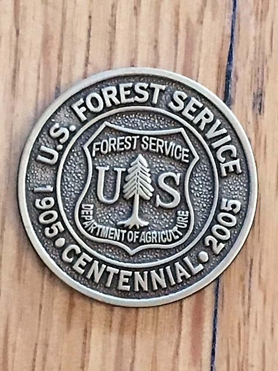 Forest Service 2005 Centennial Spur Set - Limited Edition