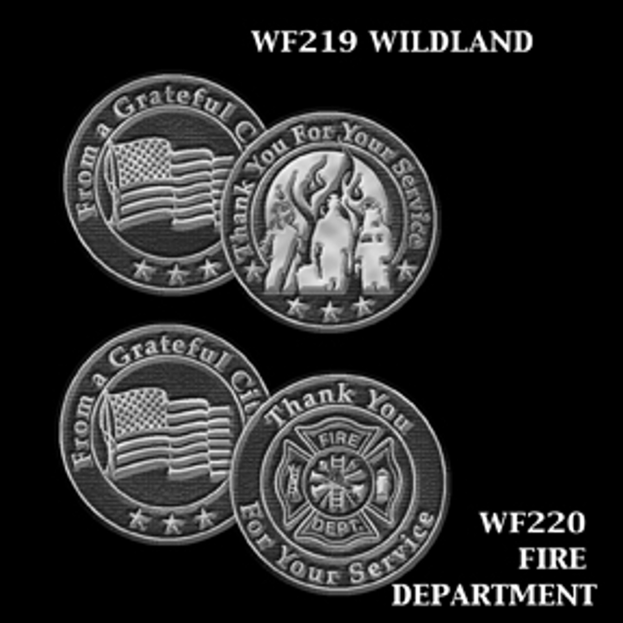 Wildland and Fire Department Token of Appreciation