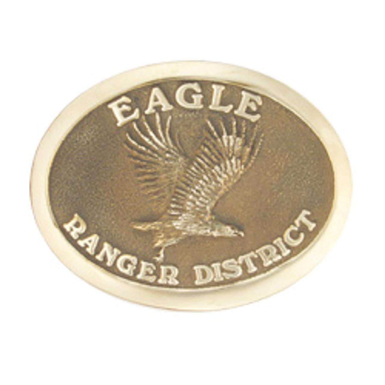 Eagle Ranger District Buckle