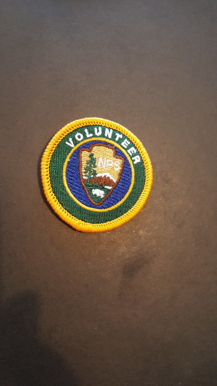 National Park Service Volunteer Patch (NPS Employees only)