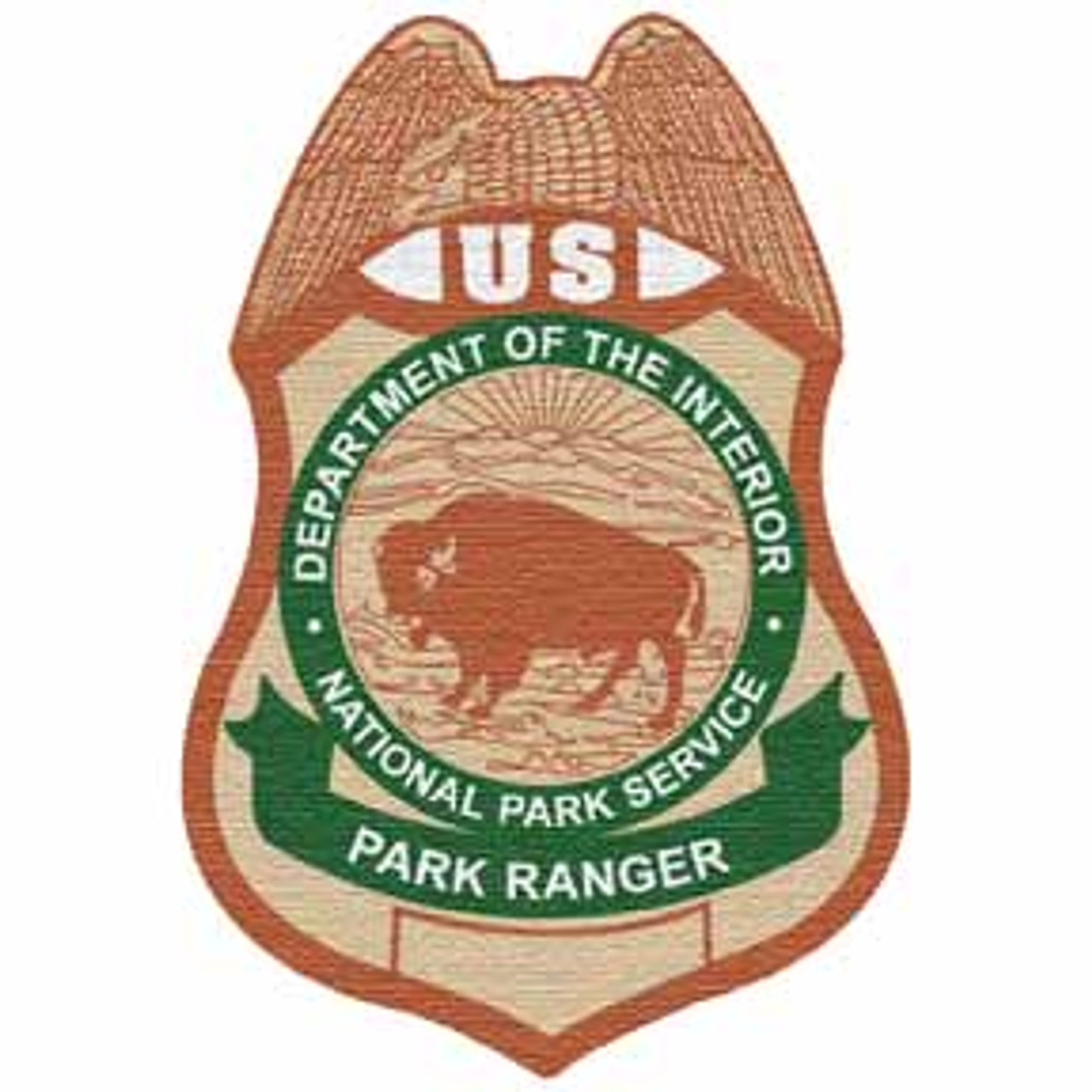 National Park Service LEI Patch (NPS Employees only)