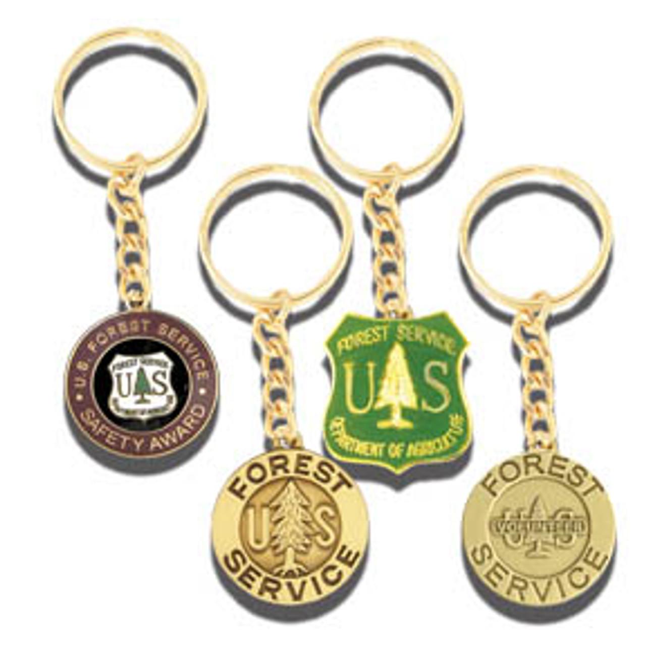 Custom Stamped Keychains - Please contact Nicole: art@westernheritage.com