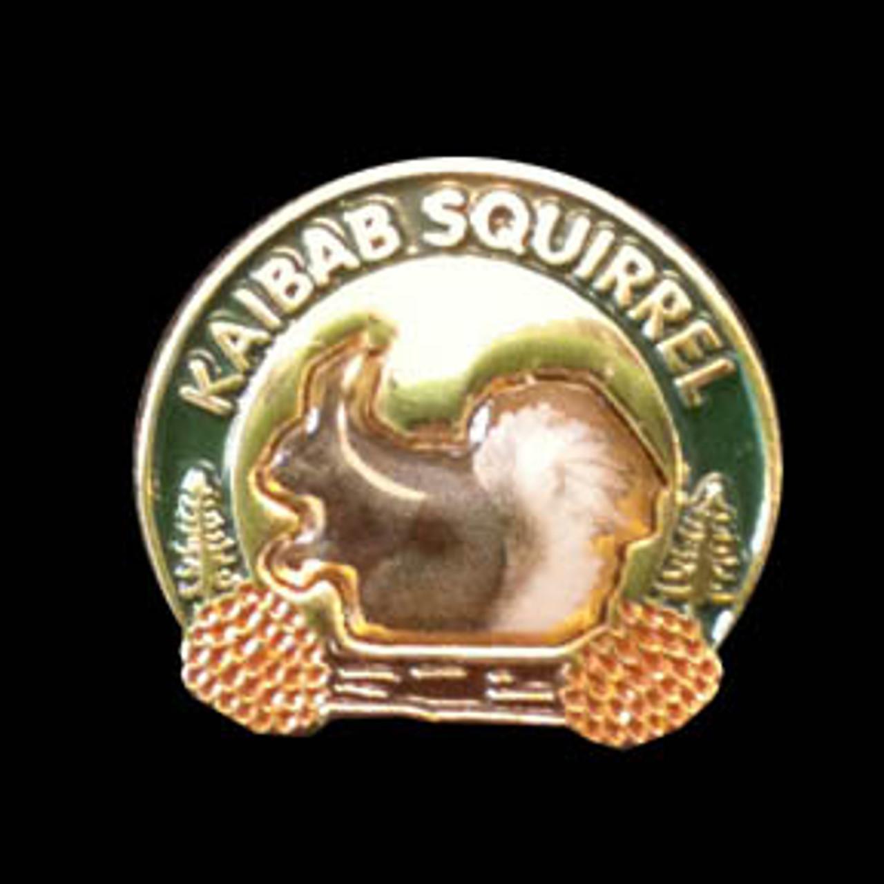 Kaibab Squirrel Pin