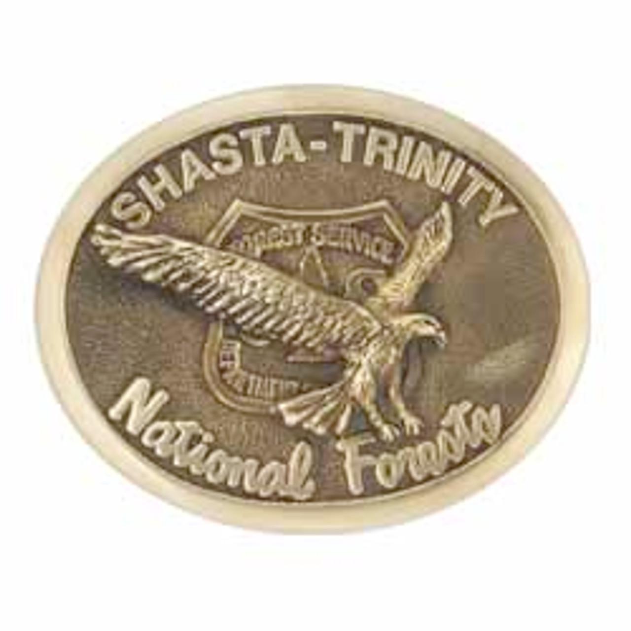 Shasta Trinity National Forest Buckle