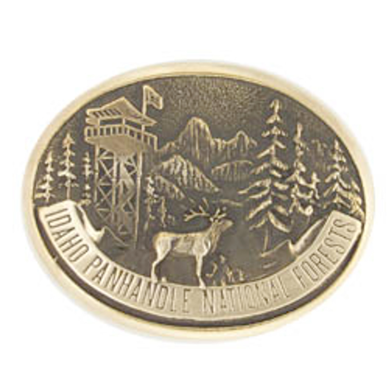 Idaho Panhandle National Forest Buckle