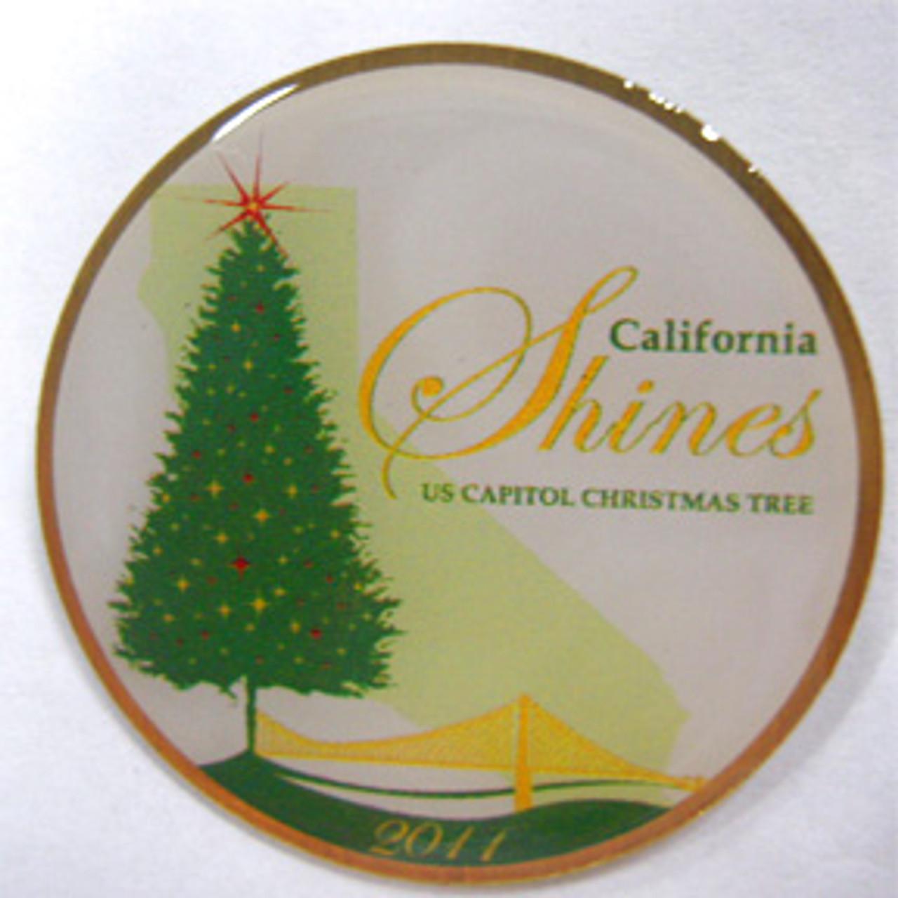 2011 US Capitol Tree Lapel Pin