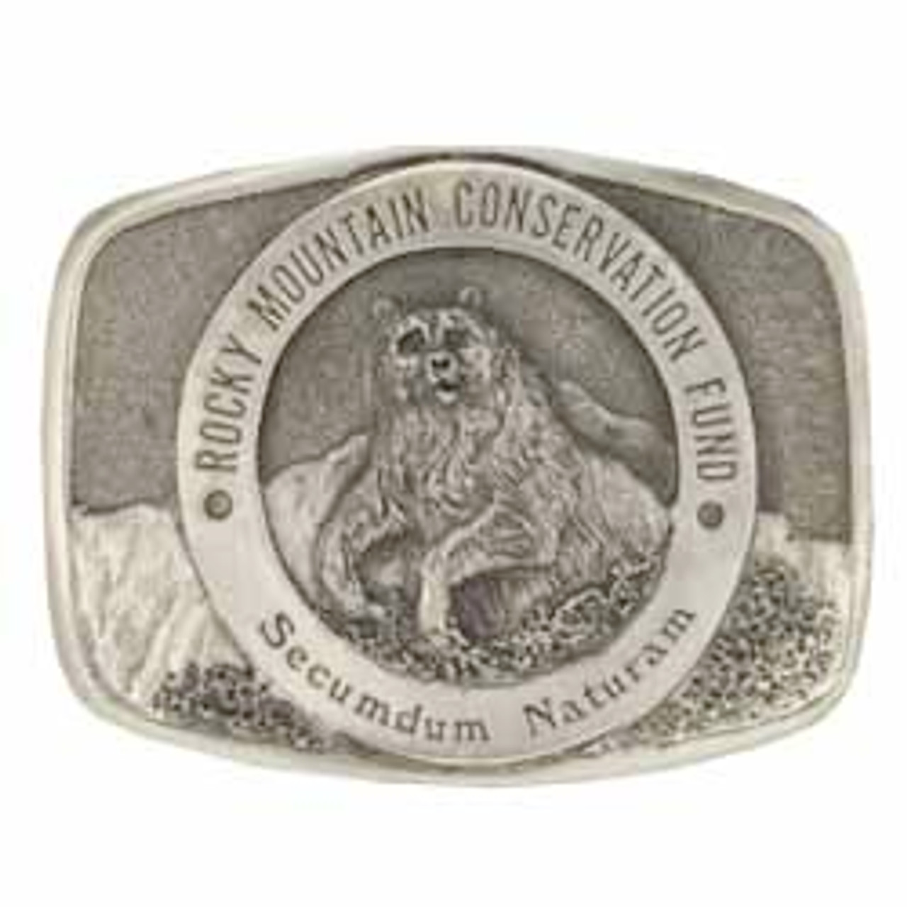 Rocky Mountain Conservation Fund Buckle