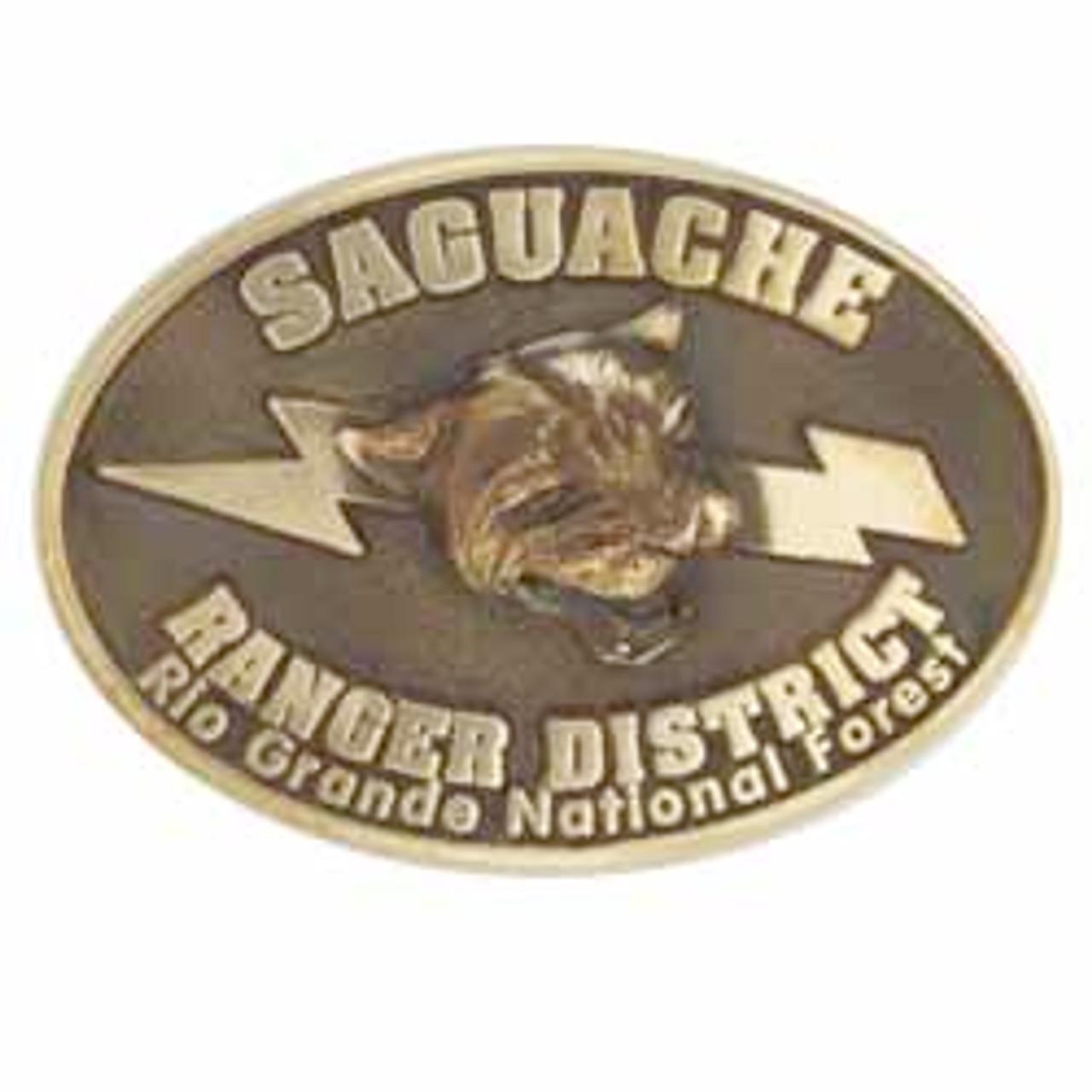Saguache Ranger District Buckle