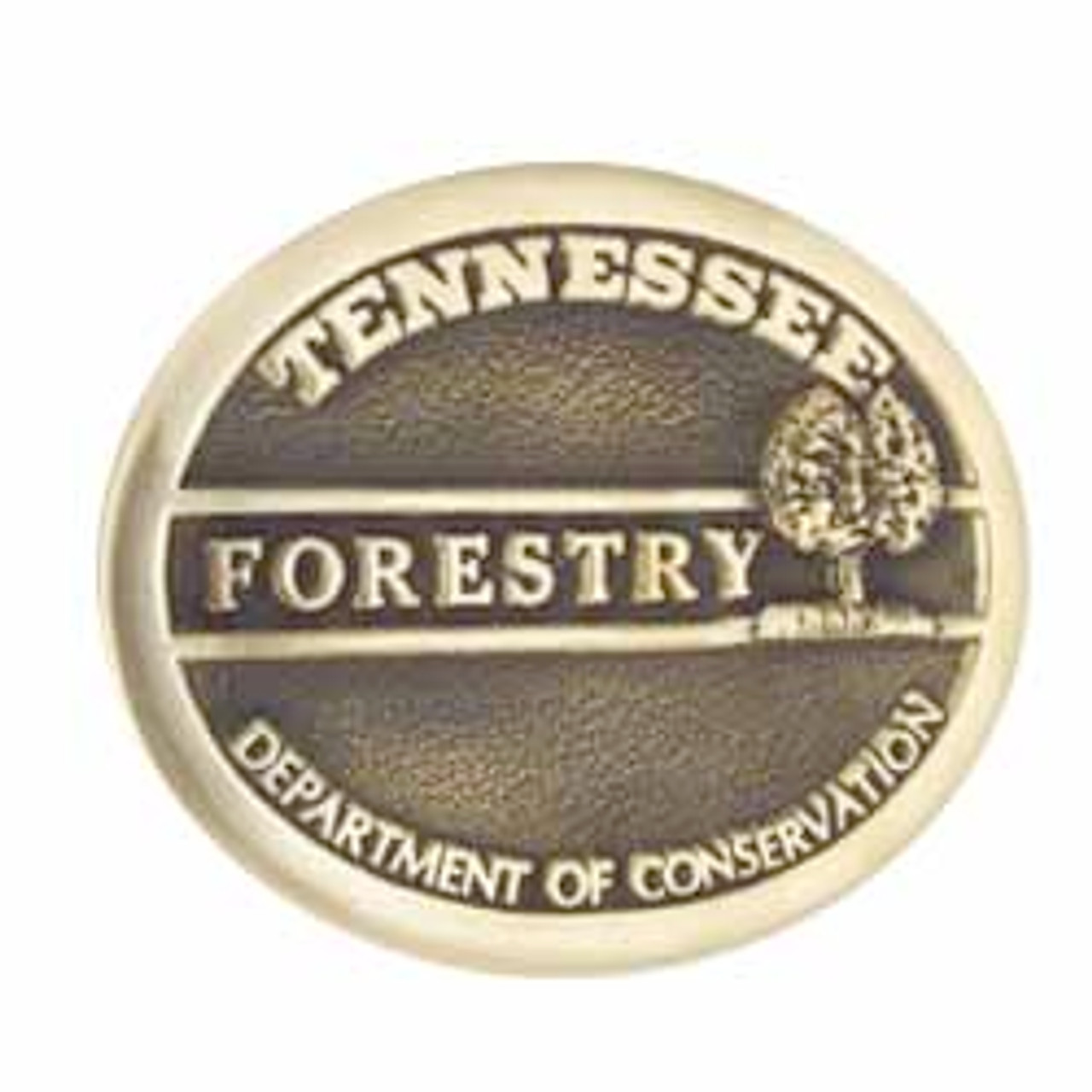 Tennessee Forestry Buckle
