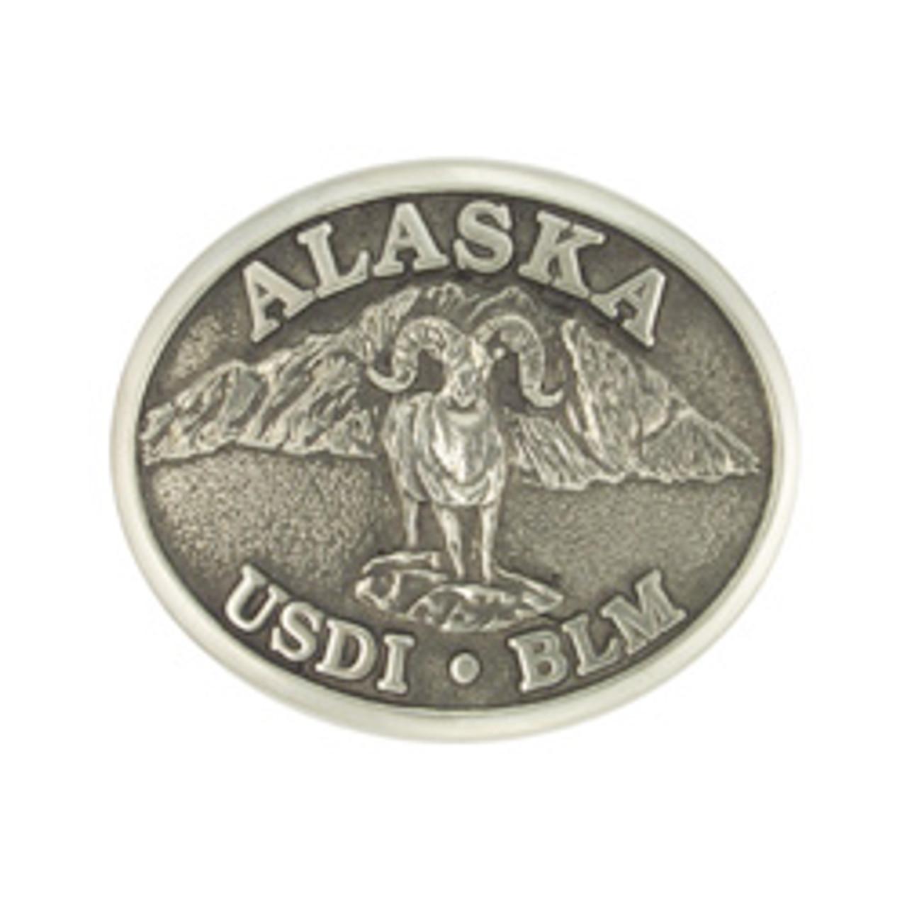 Bureau of Land Management Alaska Ram Buckle