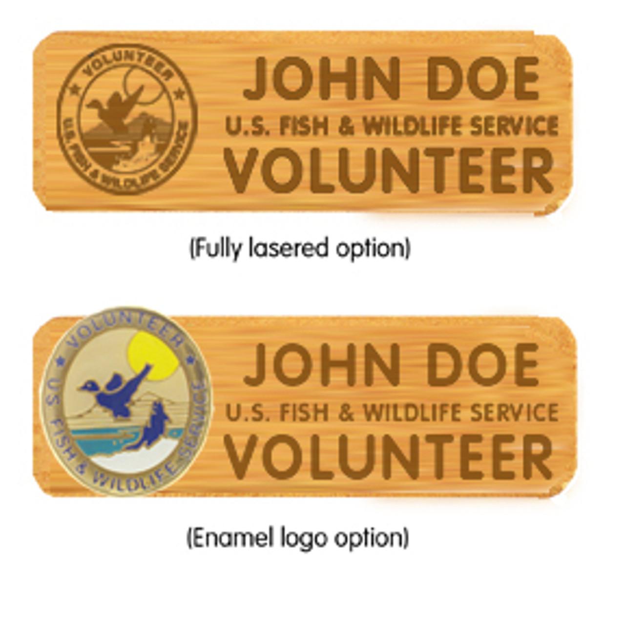 Alder Name Badge