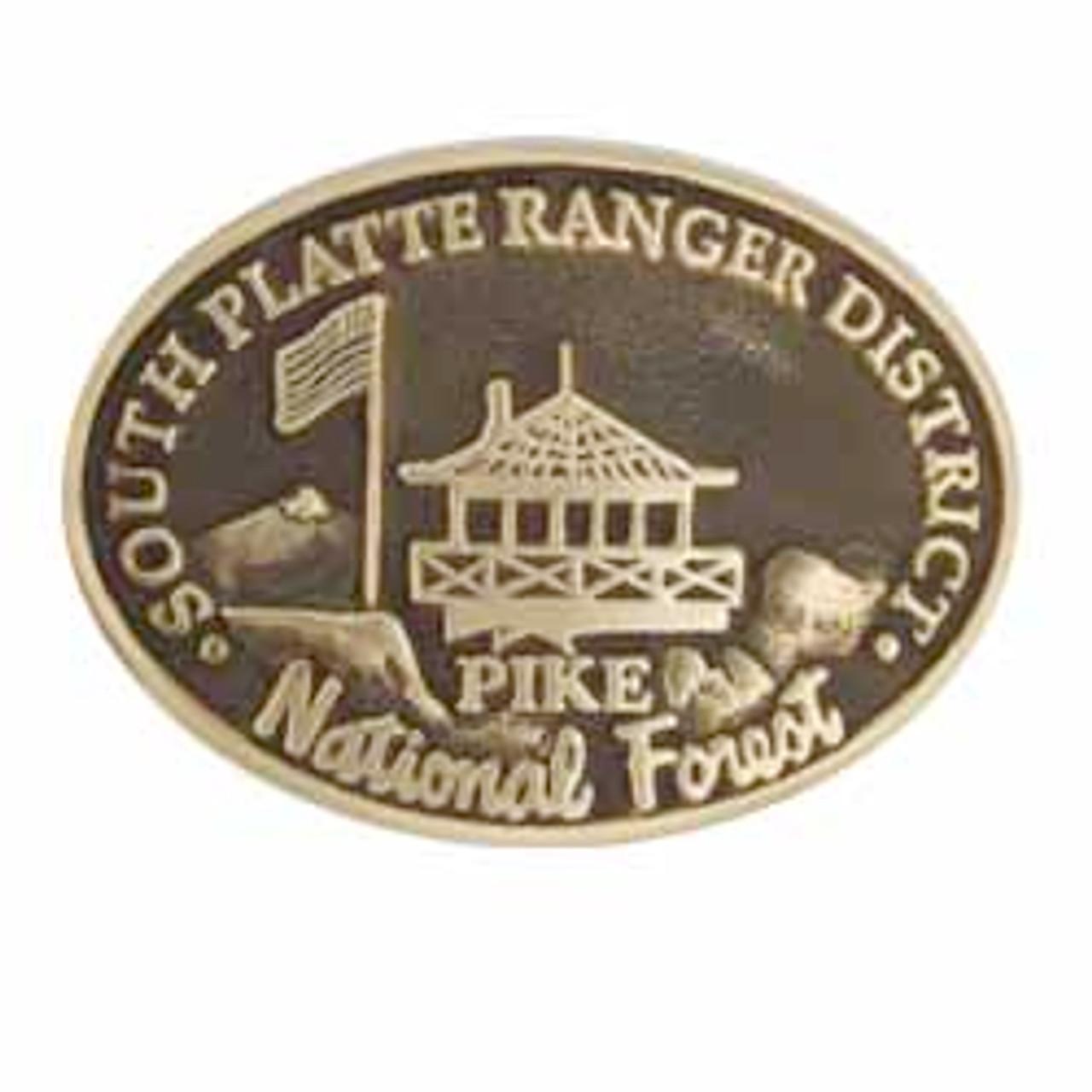 South Platte Ranger District Buckle