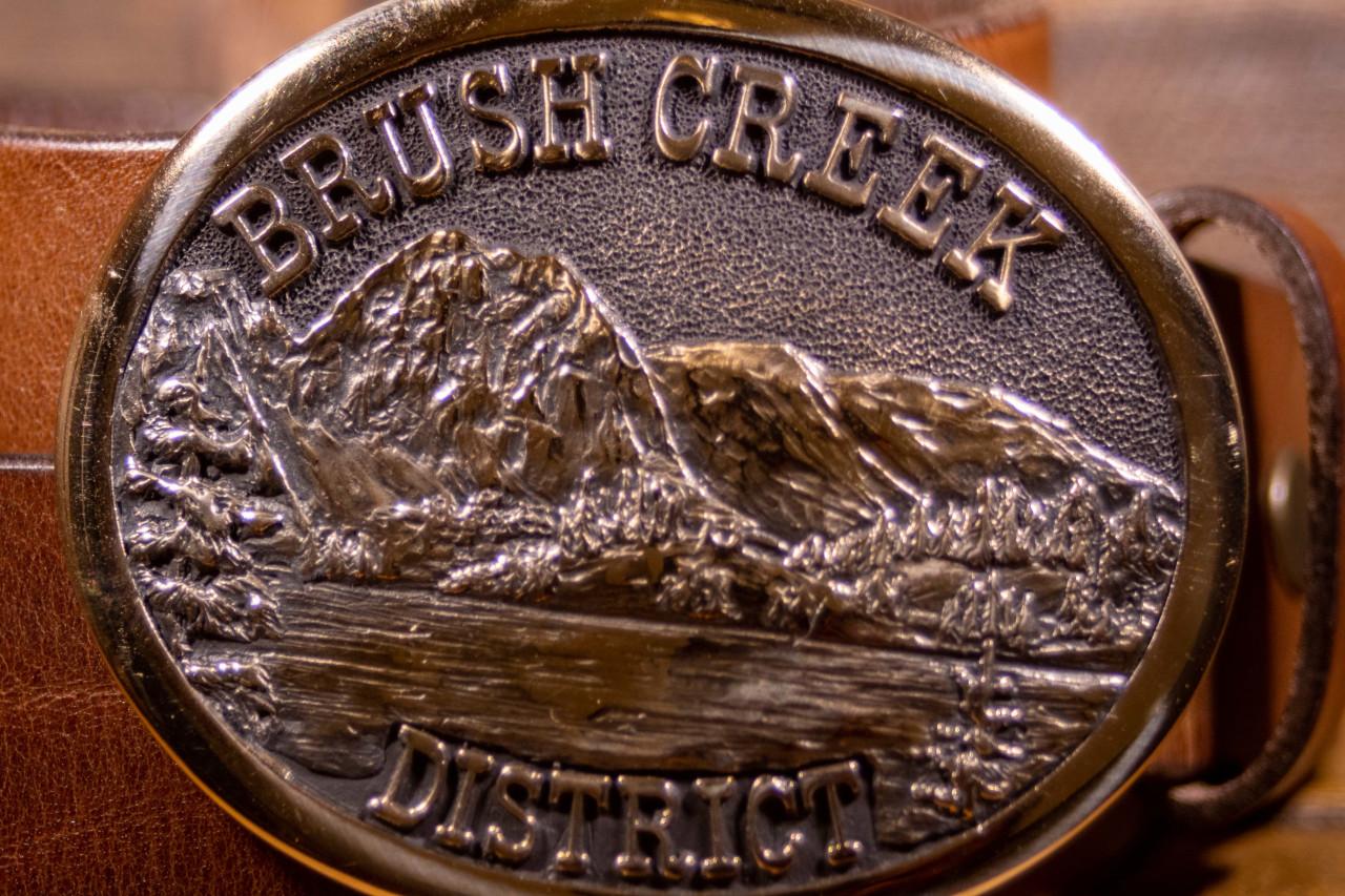 Brush Creek Ranger District Buckle
