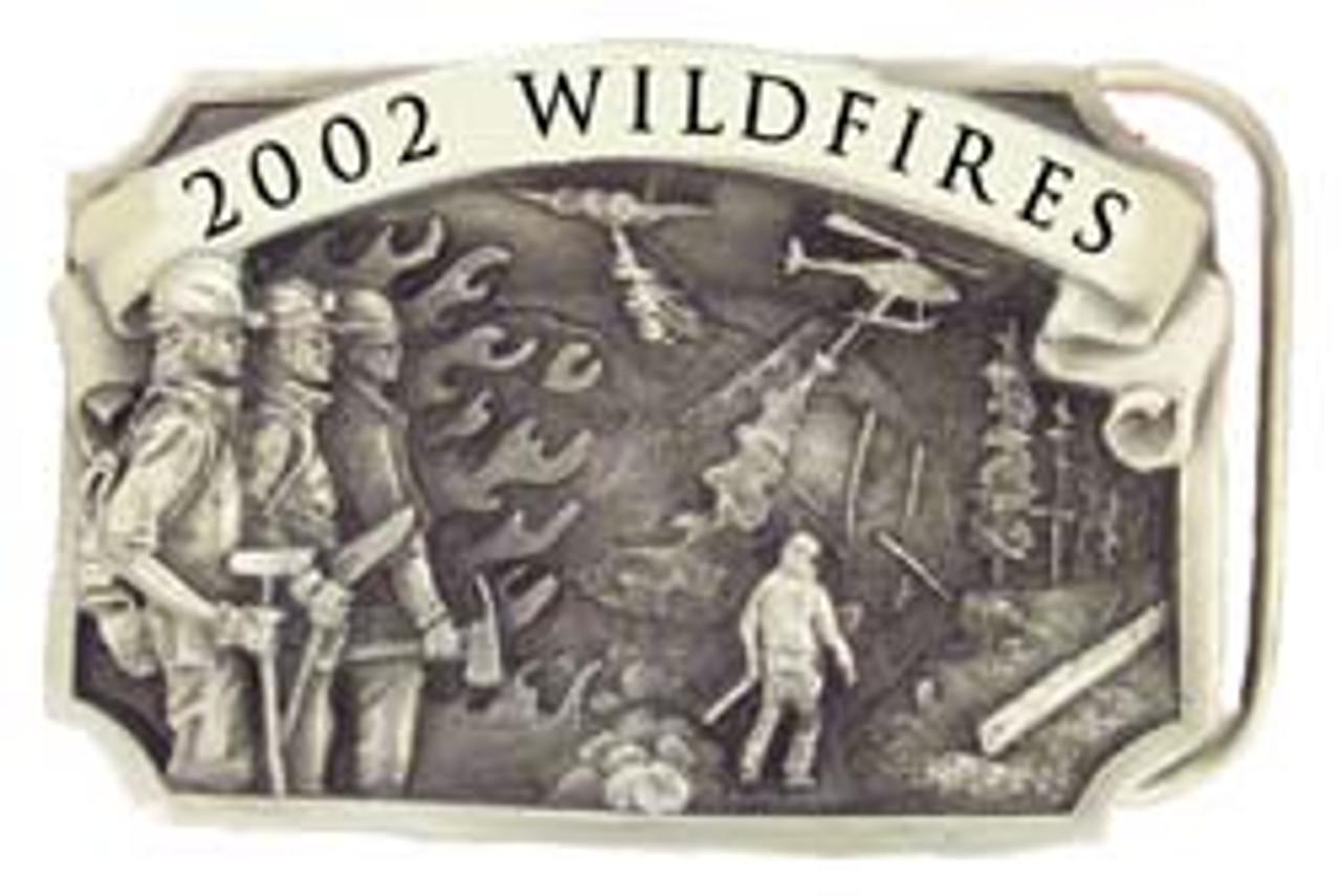 2002 Wildfires Buckle