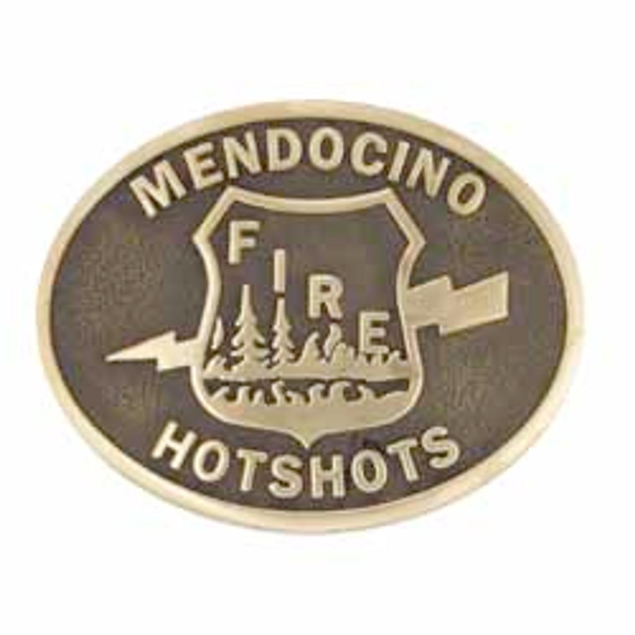 Mendocino Hotshots Buckle (RESTRICTED)