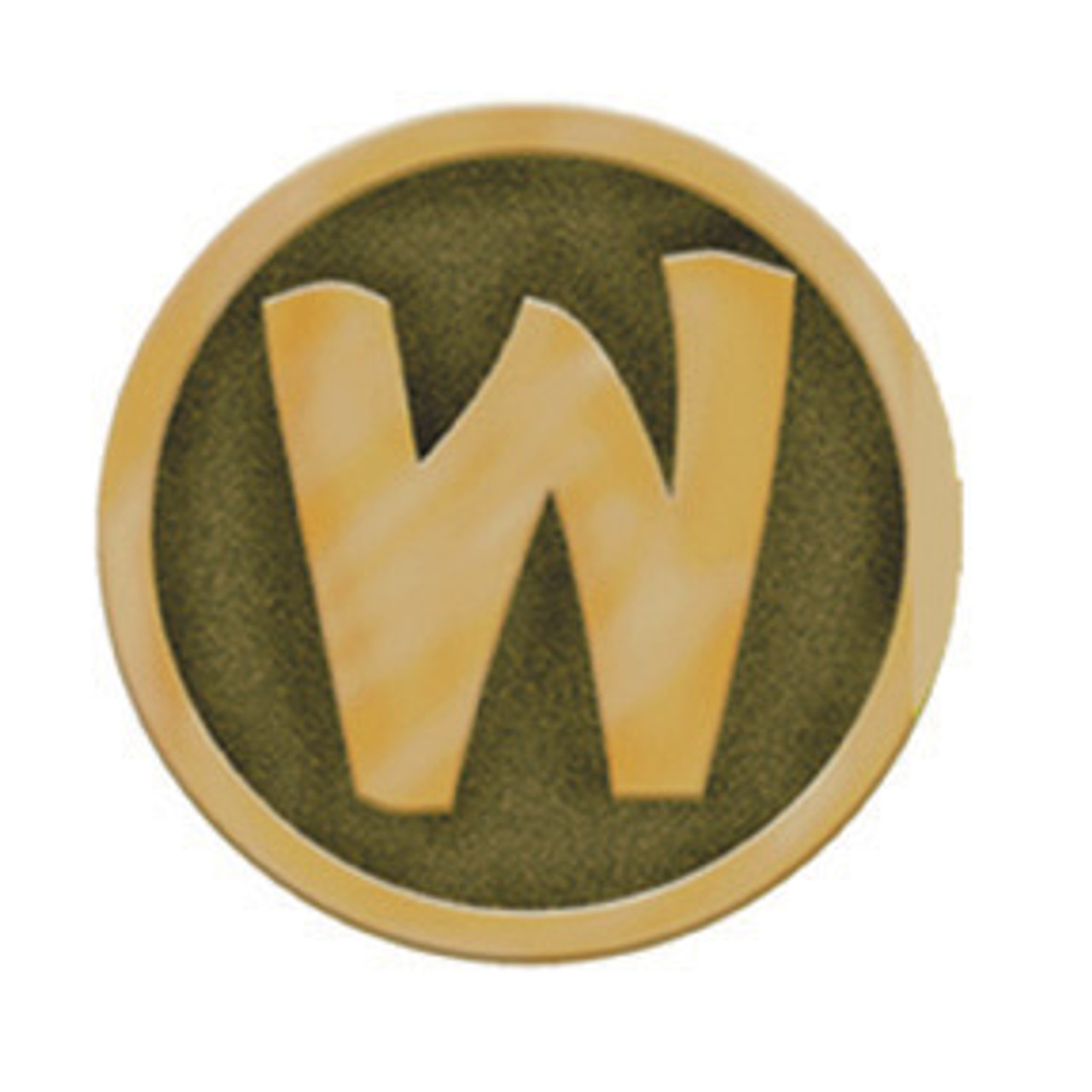 Woodsy Buckle Brass Pin