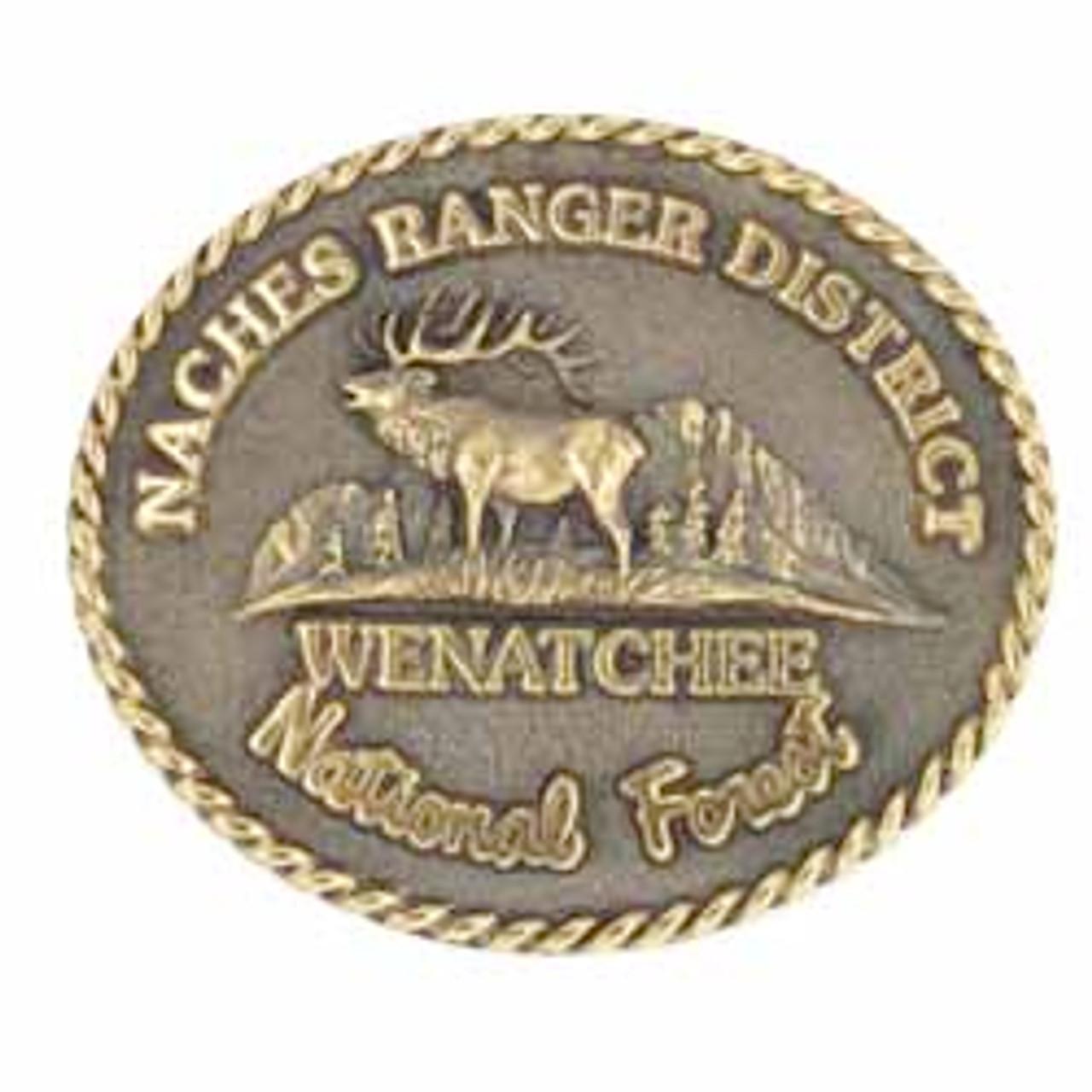 Naches Ranger District Buckle