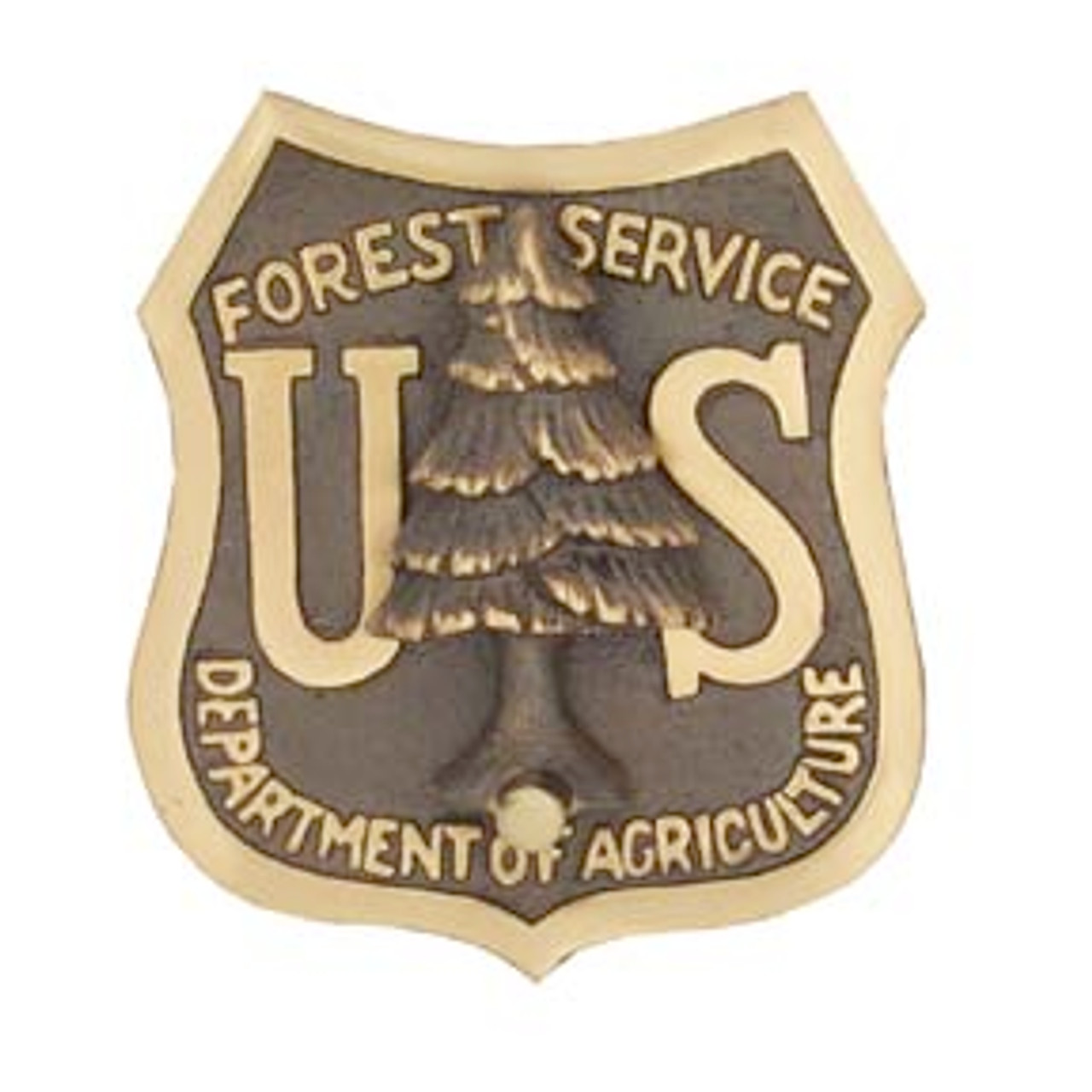 US Forest Service Shield Doorknocker (Bronze)