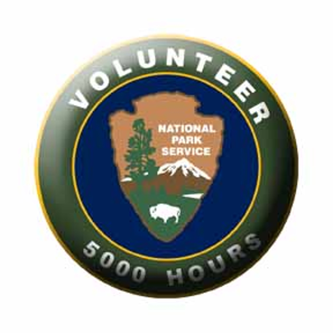 National Park Service Volunteer Hour Pins (3000 hours)