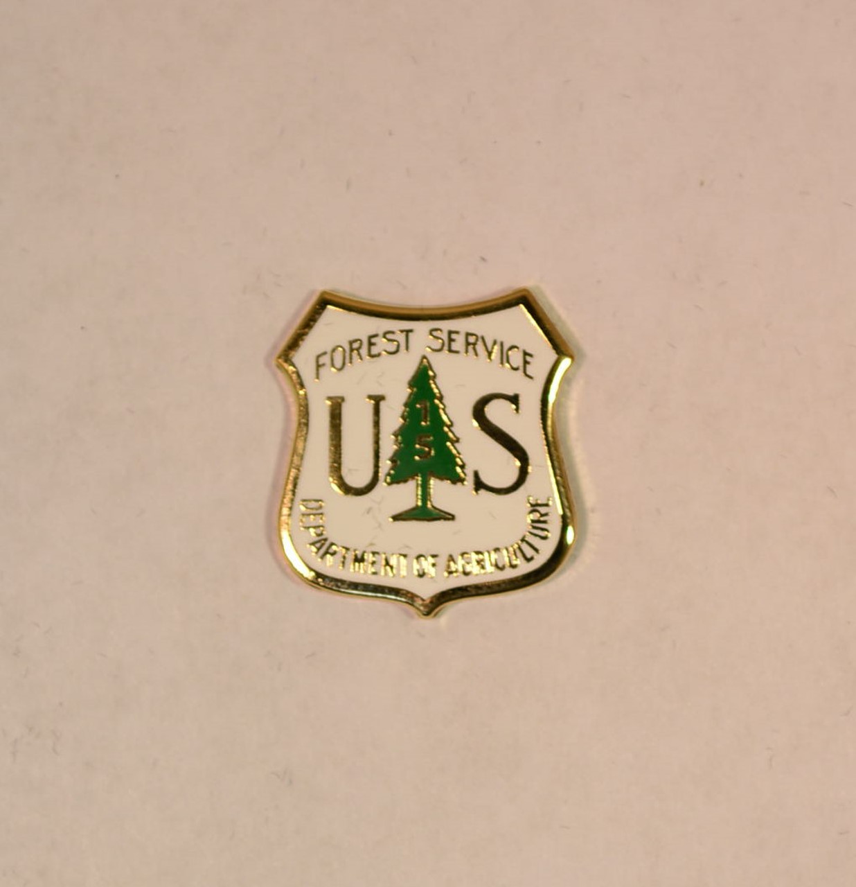 US Forest Service Years of Service Pin (15 years)