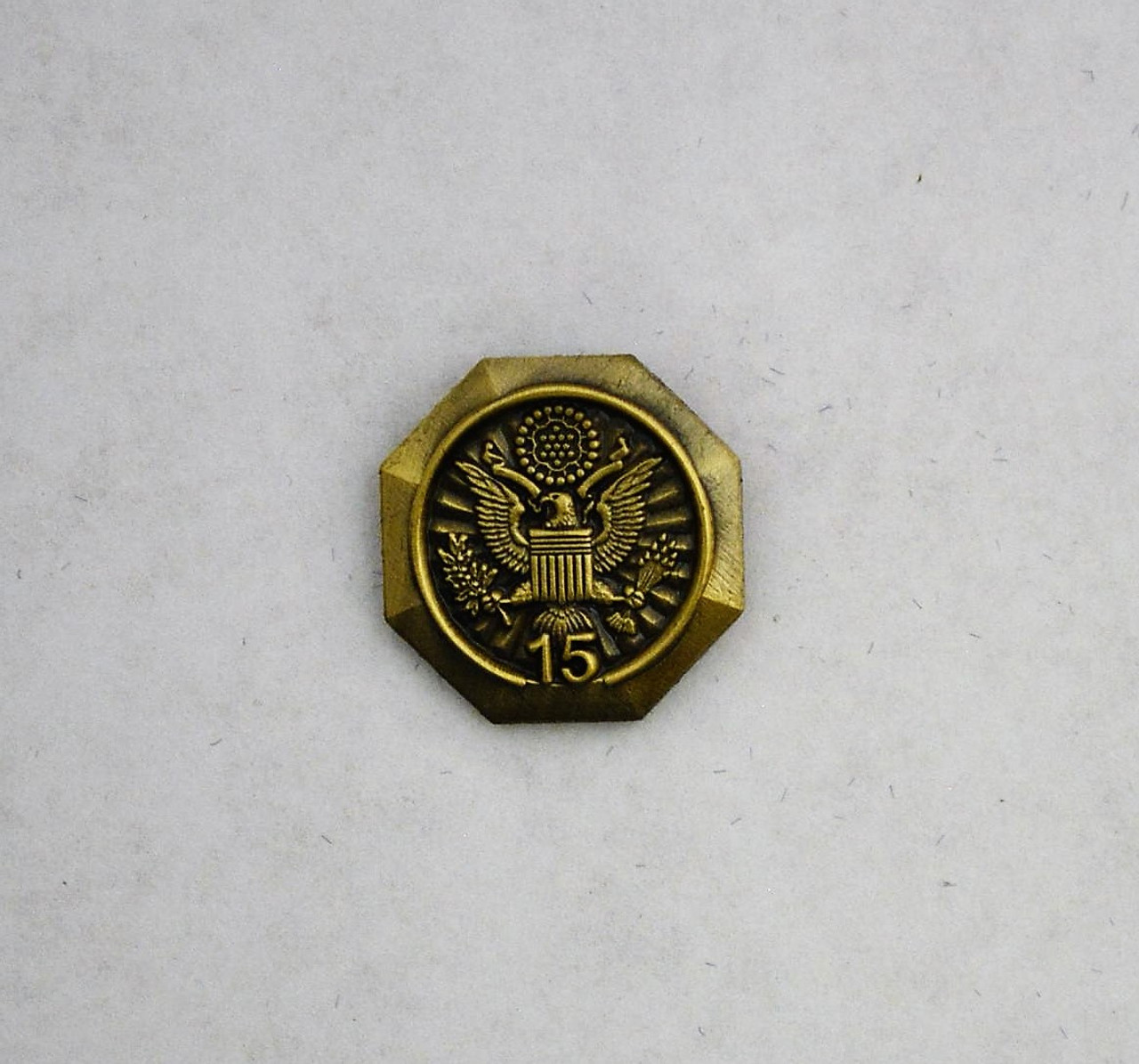 Forest Service Length of Service Pin with Eagle Crest (15 years)