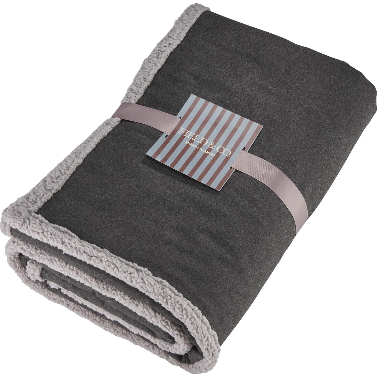 Field & Co. Oversized Wool Sherpa Blanket