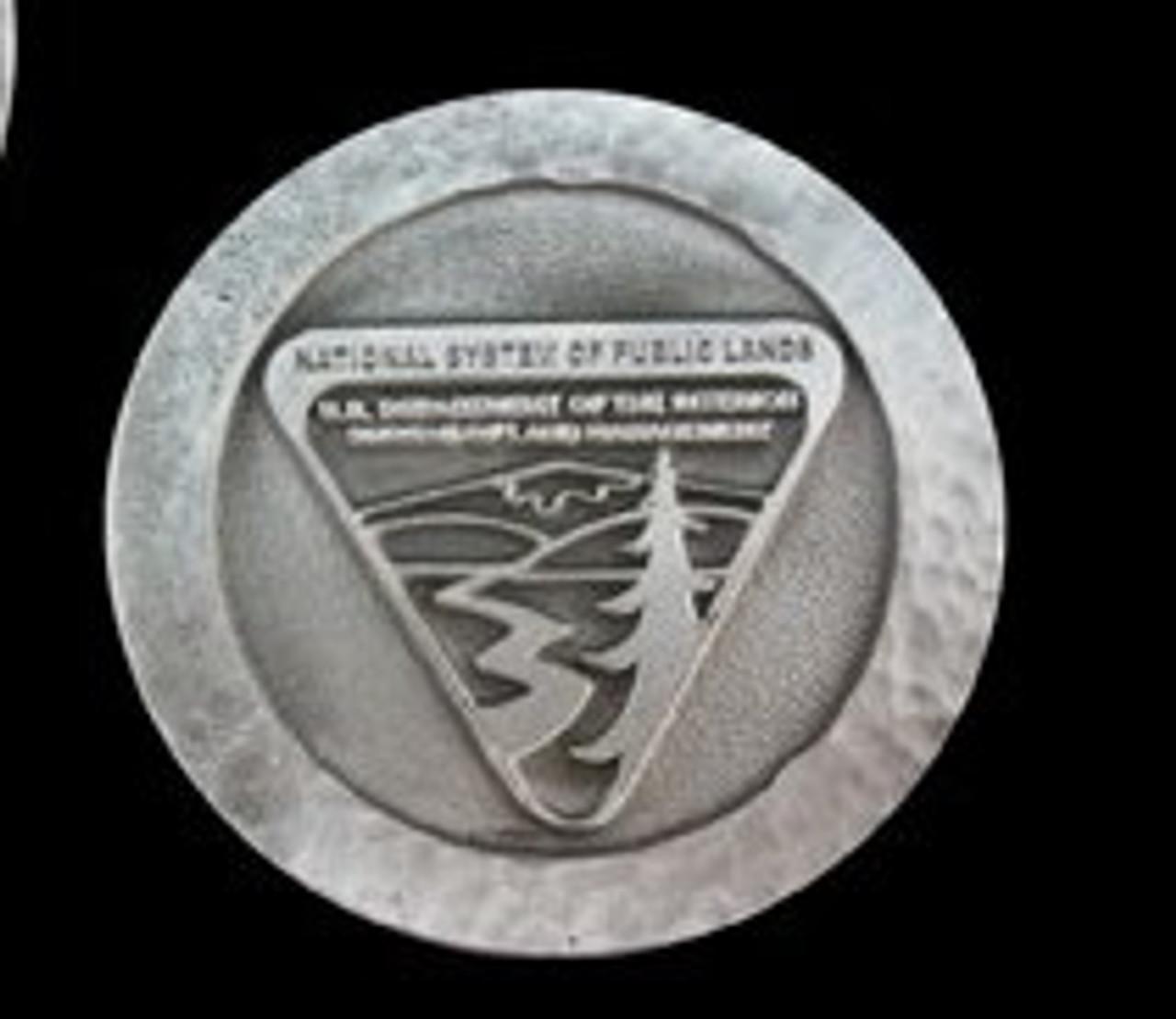 Bureau of Land Management Volunteer Appreciation Coin