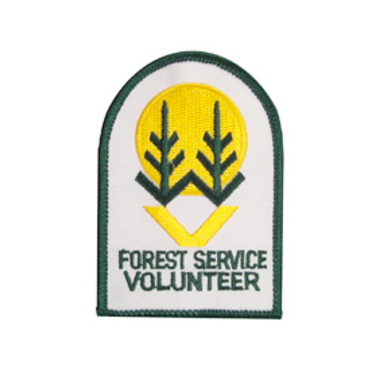 US Forest Service Volunteer Patch - Small (DISCONTINUED)