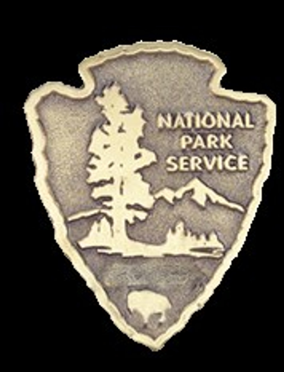 National Park Service Medallion (Small) (NPS EMPLOYEES ONLY)
