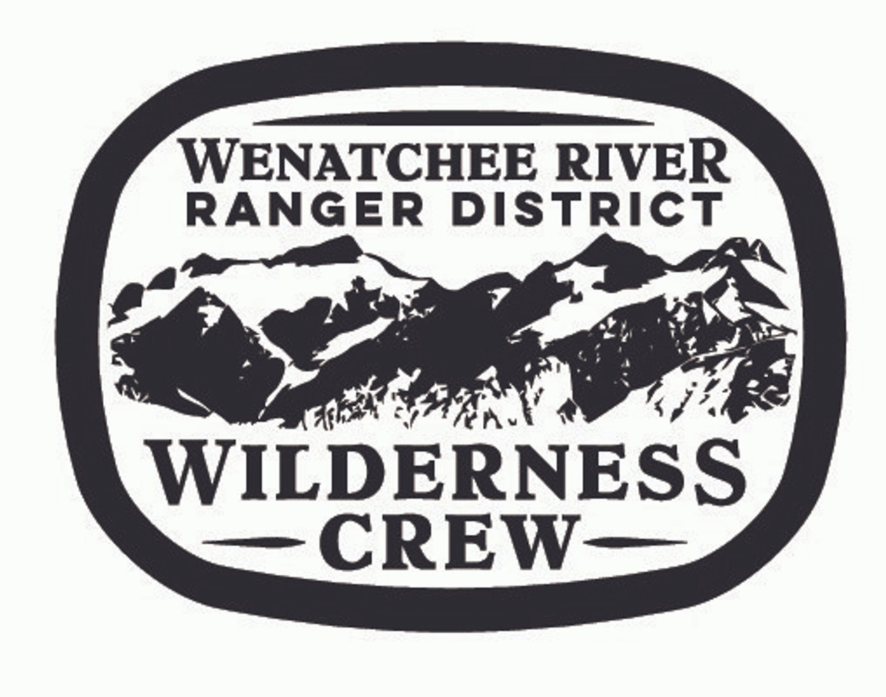 Wenatchee River Ranger District Wilderness Crew Buckle
