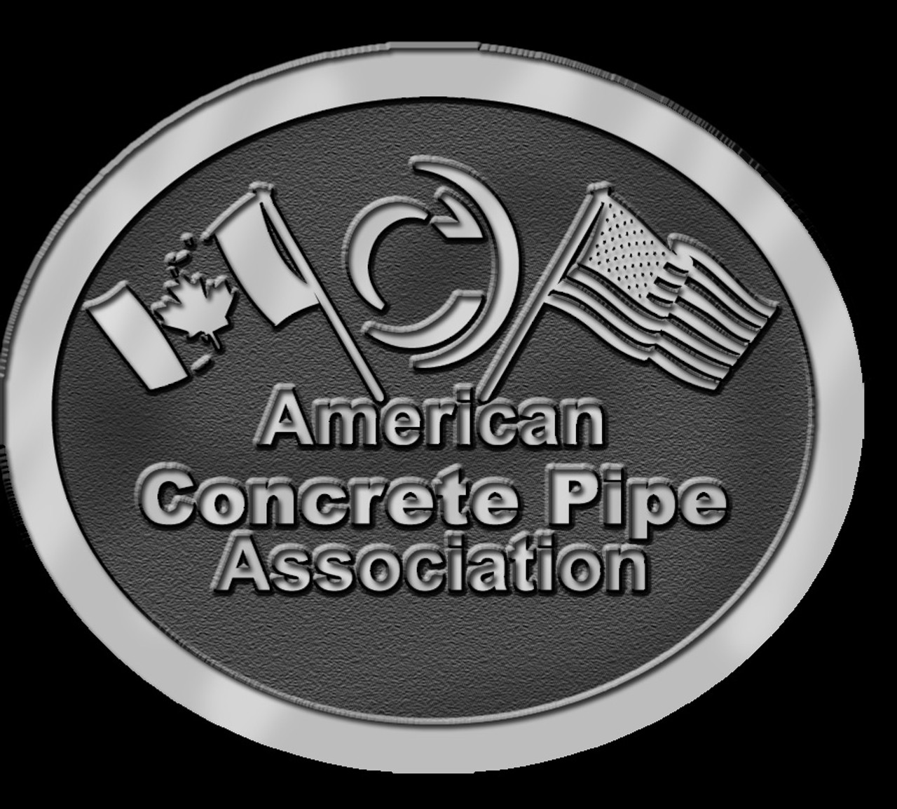 American Concrete Pipe Association Belt Buckle