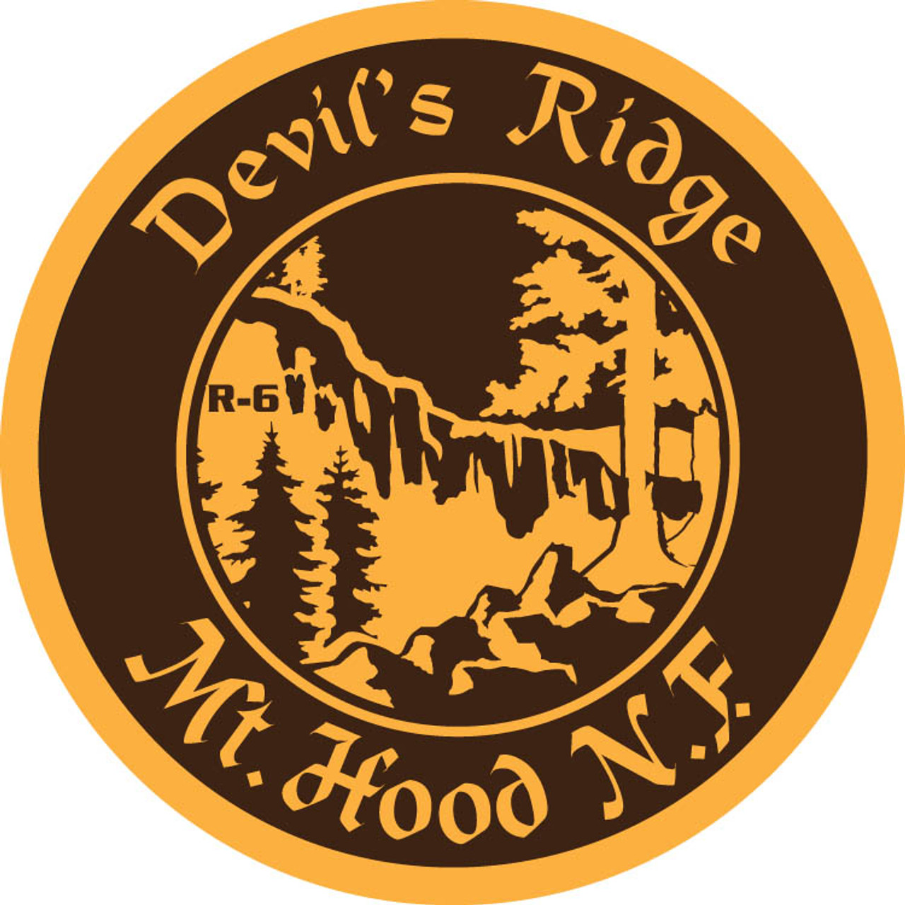 Devil's Ridge (Mt. Hood) Buckle