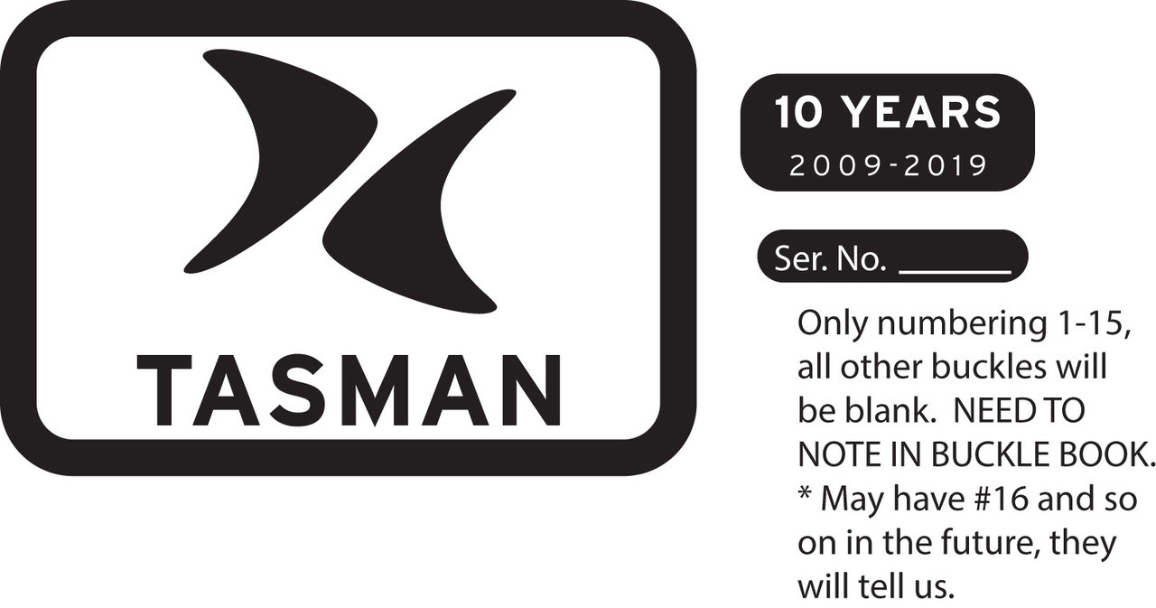 Tasman Belt Buckle
