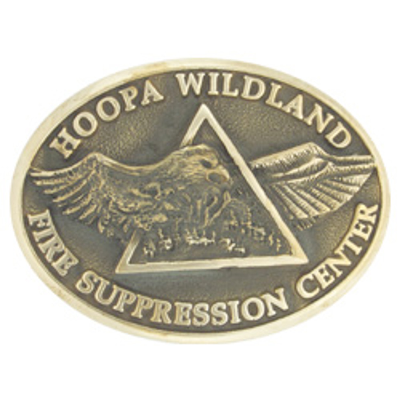 Hoopa Wildland Fire Suppression Buckle (RESTRICTED)