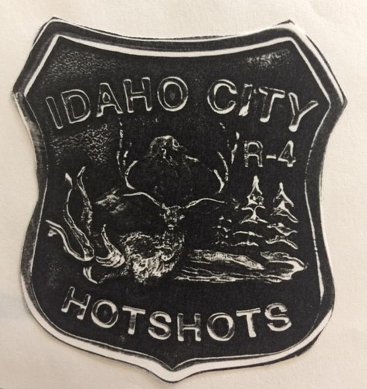 Idaho City Hotshots Buckle (RESTRICTED)