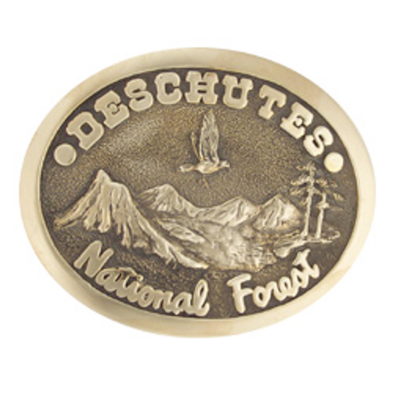Deschutes National Forest Buckle
