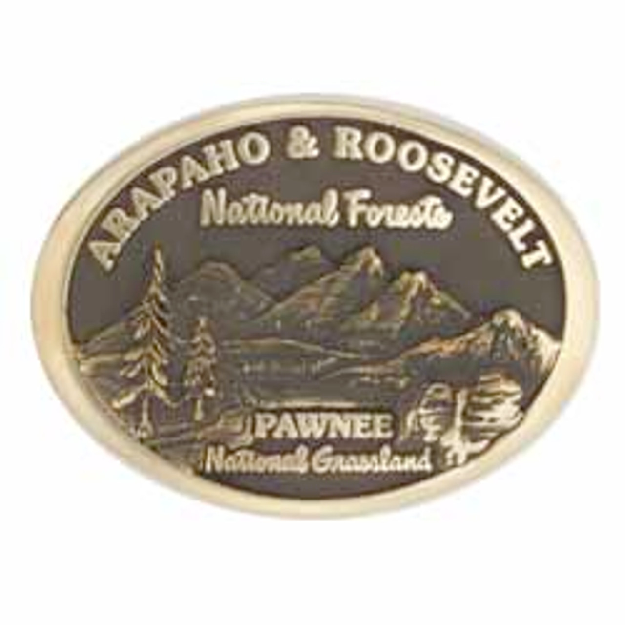 Arapaho and Roosevelt National Forest-Pawnee National Grassland Buckle